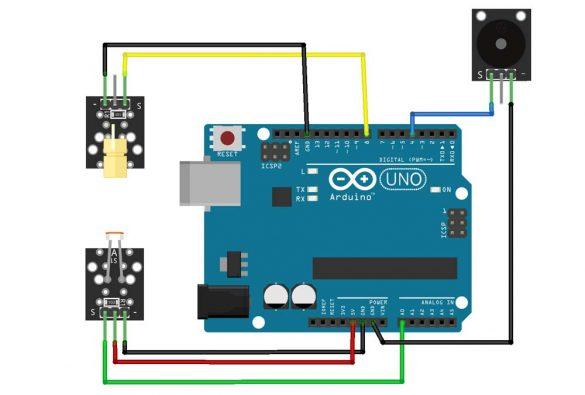 Allarme Laser Arduino