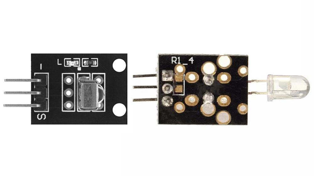 Utilizzare Arduino con trasmettitore e ricevitore infrarossi